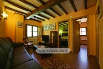 Habitación 1. Casa de aldea Araceli (Quirós)