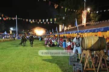 Cena medieval de los Exconxuraos de Llanera