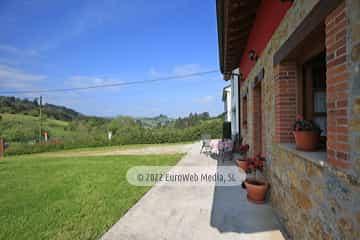 Exteriores. Casa rural Nel Solanu