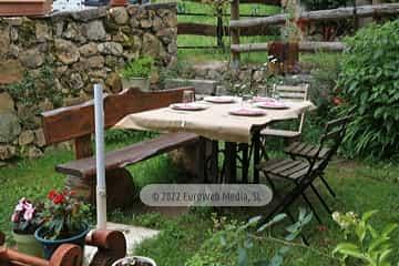 Restaurante. Hotel rural Casa Lao
