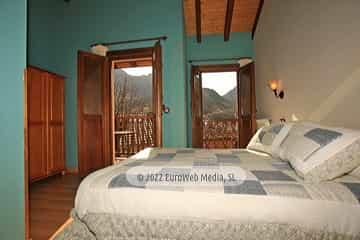 Habitación 5. Hotel rural Casa Lao