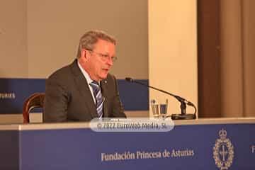 Hispanic Society of America, Premio Princesa de Asturias de Cooperación Internacional 2017