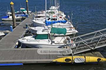 Puerto deportivo de Avilés