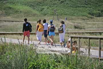 Playa Penarronda (Castropol). Monumento Natural Playa de Penarronda en Tapia
