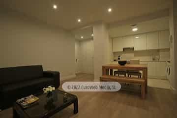 Salón cocina. Apartamento Constantino Cabal