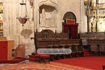 Retablo Capilla Mayor. Retablo Capilla Mayor en la Catedral de Oviedo