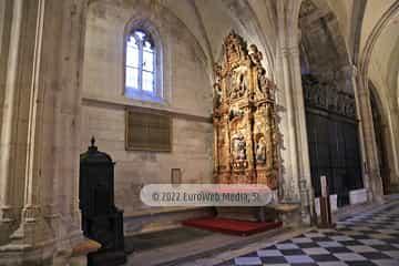 Capilla de la Asunción. Capilla de la Asunción en la Catedral de Oviedo