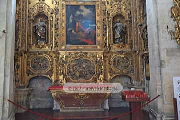 Capilla de San Pablo. Capilla de San Pablo en la Catedral de Oviedo