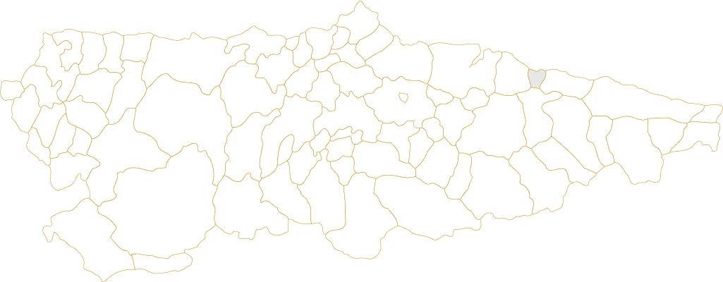 Situación de Caravia en Asturias