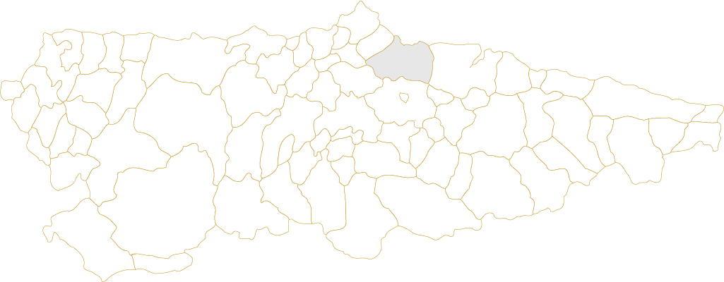 Situación de Gijón en Asturias