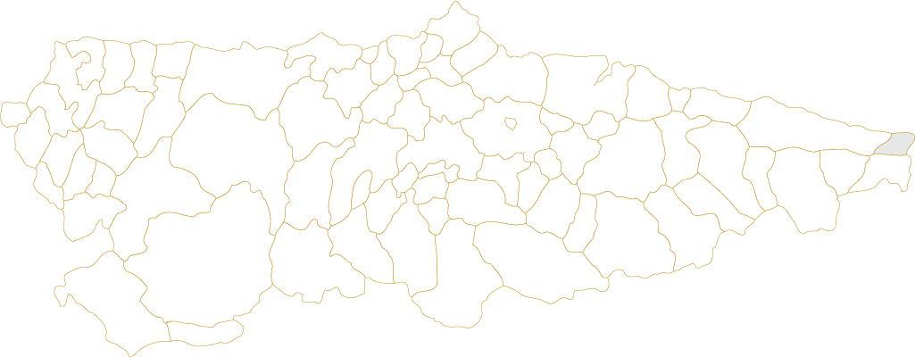 Situación de Ribadedeva en Asturias